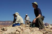 The author on a Grand Canyon summit
